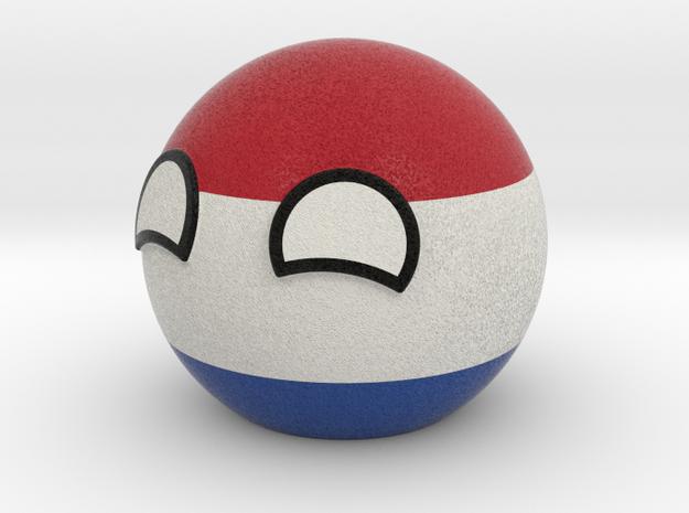 Netherlandsball in Full Color Sandstone