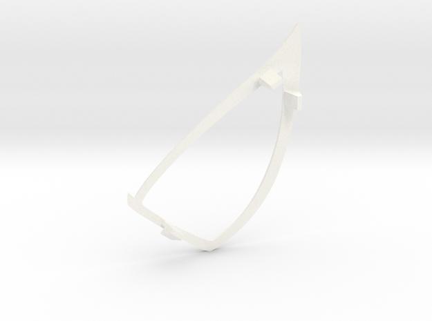 "Spider-Man ""Raimi"" RightEyefame for 22.5cm shell in White Processed Versatile Plastic"