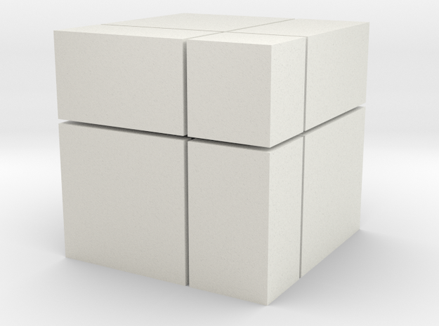 Mirror Blocks 2x2 in White Strong & Flexible