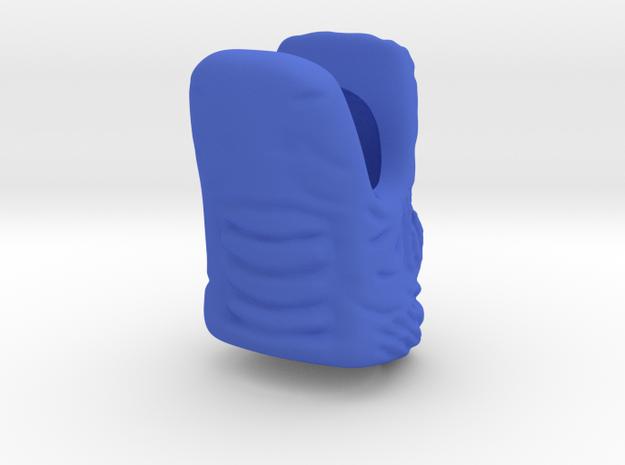Dragon wide open mouth ring customize size 3d printed