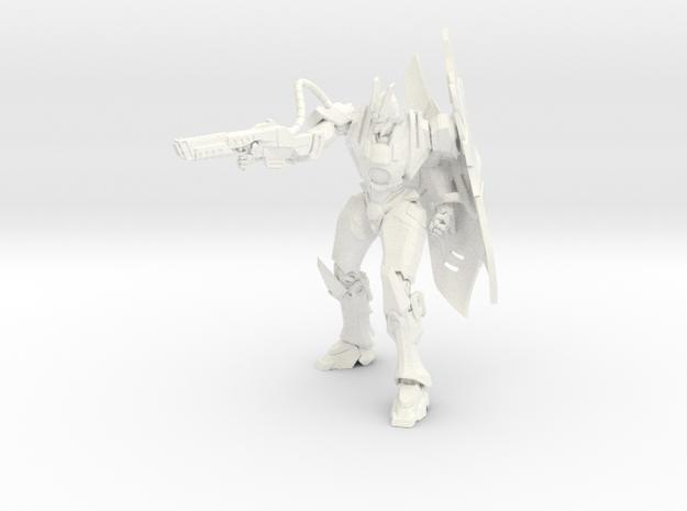 Ryu - Lightning / Ryu - Rayo in White Strong & Flexible Polished