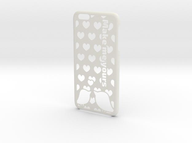 iPhone 6 Plus Case - Customizable in White Natural Versatile Plastic