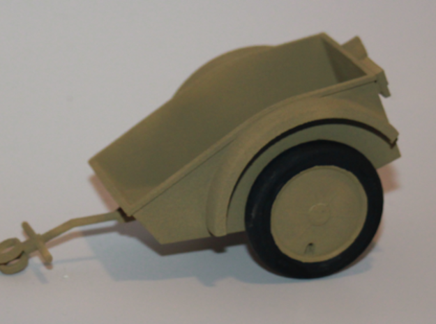 Sd.Ah.1 - German Kettenkrad trailer - 1:18 Scale - 3d printed