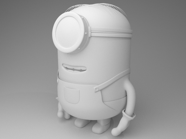 Minion Gru my favorite villain in White Processed Versatile Plastic