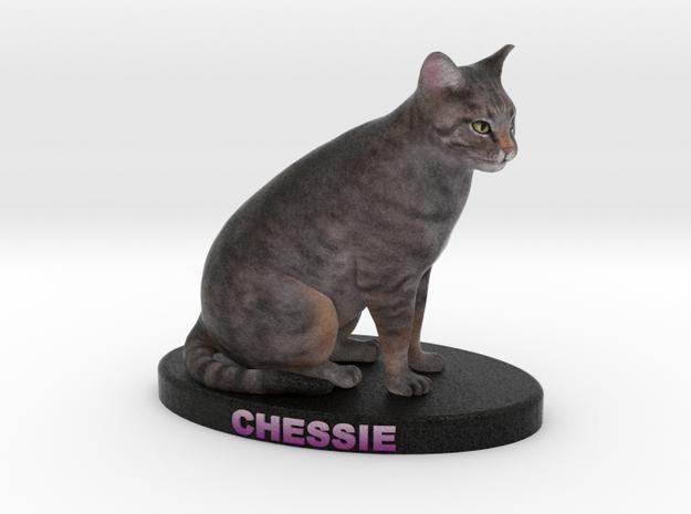 Custom Cat Figurine - Chessie 3d printed