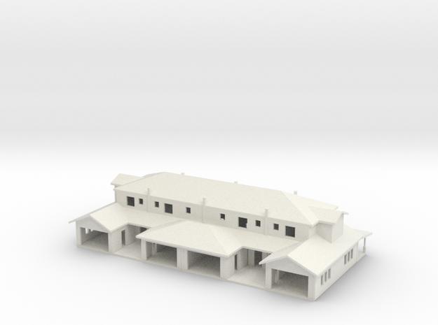 Townhose 4 Unit 3d printed