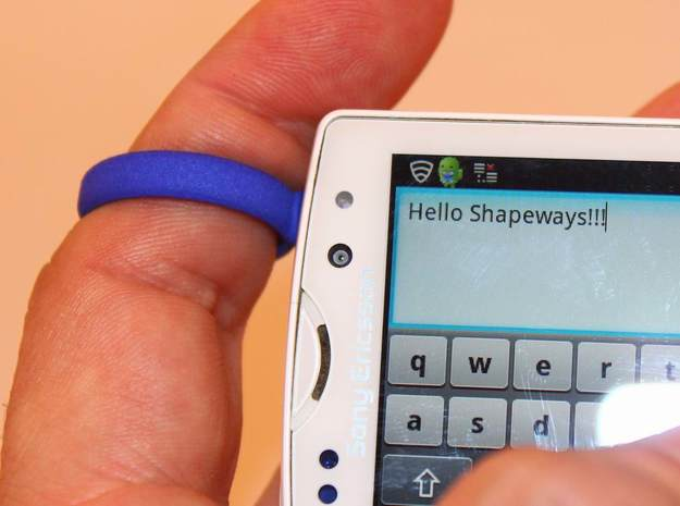 MOBILE PHONE TEXTING SECURITY RING