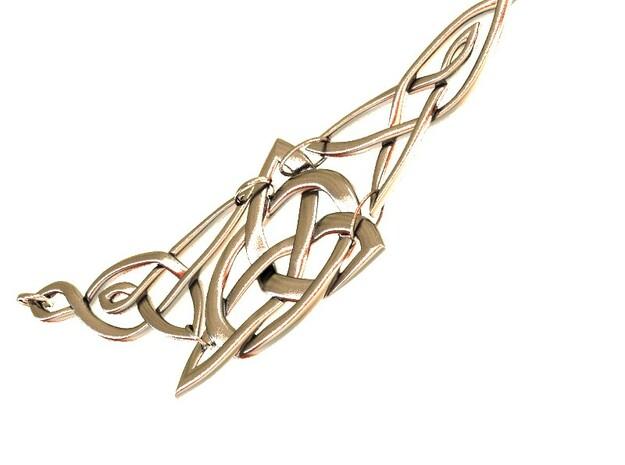Triquetra Celtic Necklace 3d printed