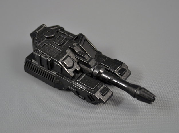 Botcon 2011 Galvatron Rumbler 3d printed Polished WSF + paint + clearcoat