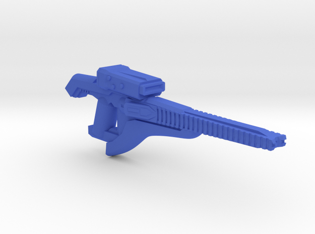 Plasma Beam Carbine  in Blue Strong & Flexible Polished