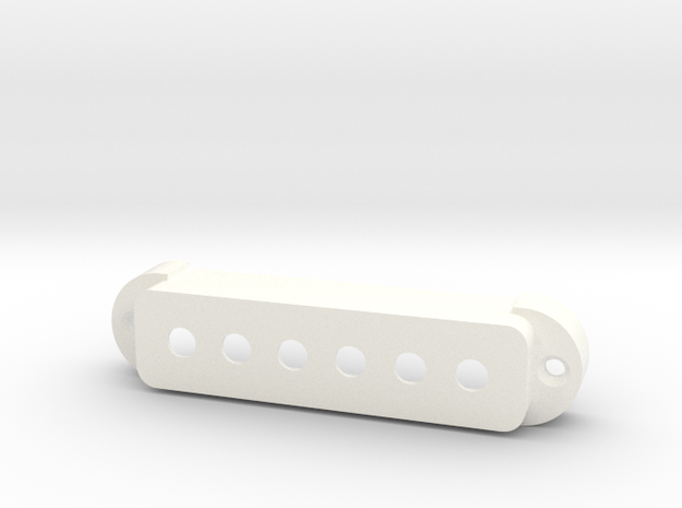 Jaguar Pickup Cover - Standard in White Processed Versatile Plastic