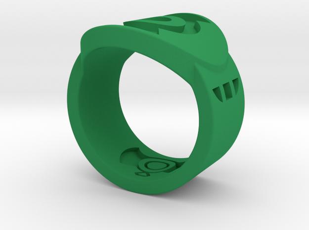 FF GL Sz 7 in Green Processed Versatile Plastic
