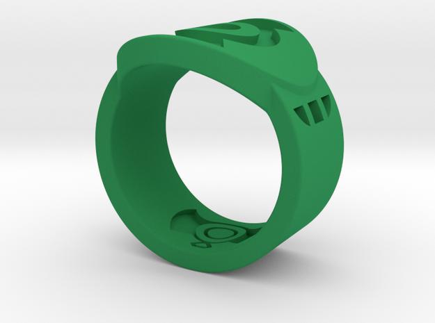FF GL Sz 8 in Green Processed Versatile Plastic