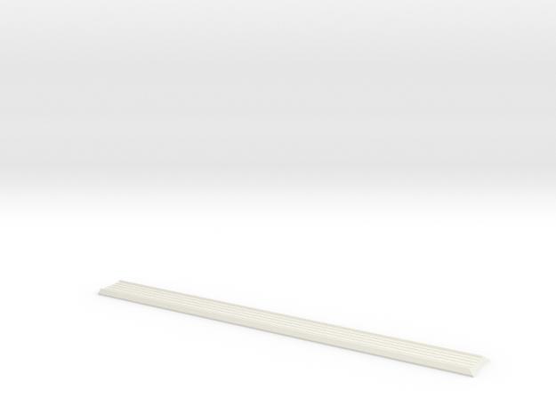 142 853 243 Dash Centre RHD Karmann Ghia in White Natural Versatile Plastic