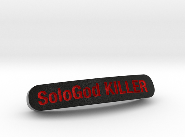 SoloGod KILLER Nameplate for SteelSeries Rival