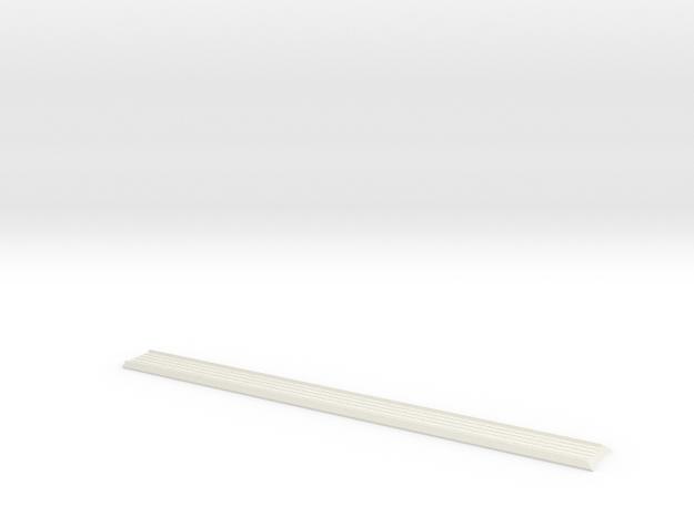 141 853 243 Dash Centre LHD Karmann Ghia in White Natural Versatile Plastic