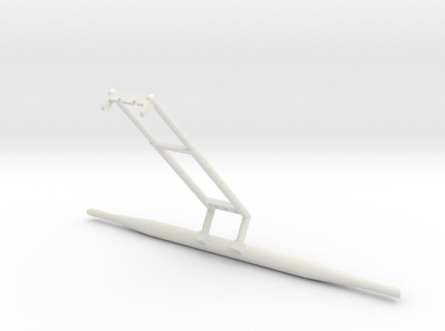 37C-J Mission-LRV Saddle Scenario 3 in White Natural Versatile Plastic