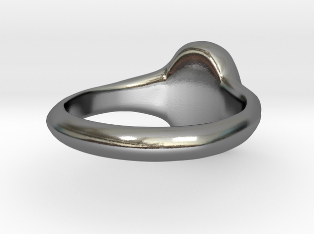 Women's Signet Ring with Traditional Monogram