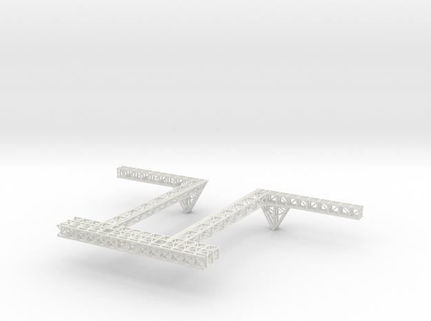 Stern Deck Upper Central V0.5 in White Strong & Flexible
