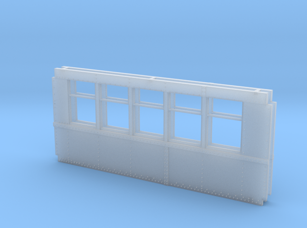 Baldie Square Window Side Combination  in Frosted Ultra Detail