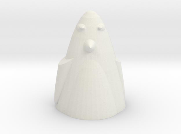 The Penguin  in White Natural Versatile Plastic