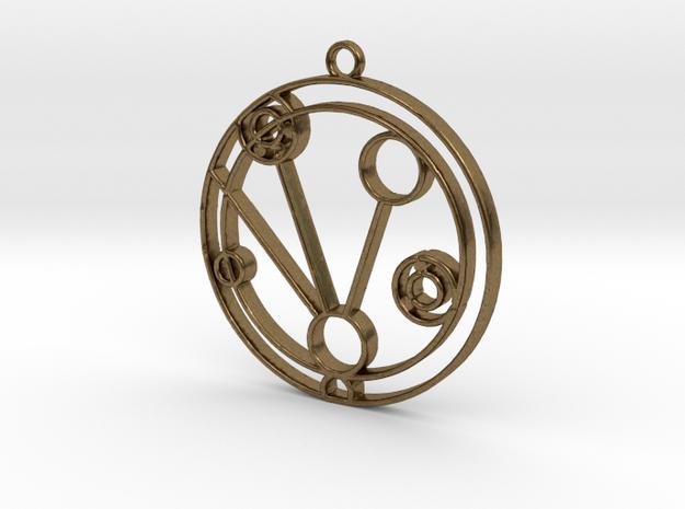 Makenzie - Necklace in Raw Bronze