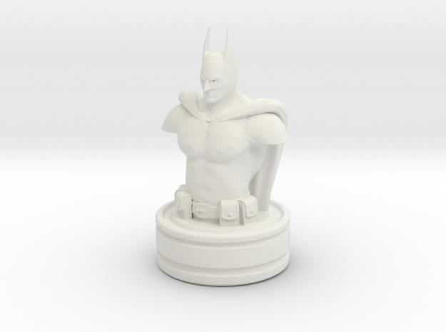Batman in White Natural Versatile Plastic