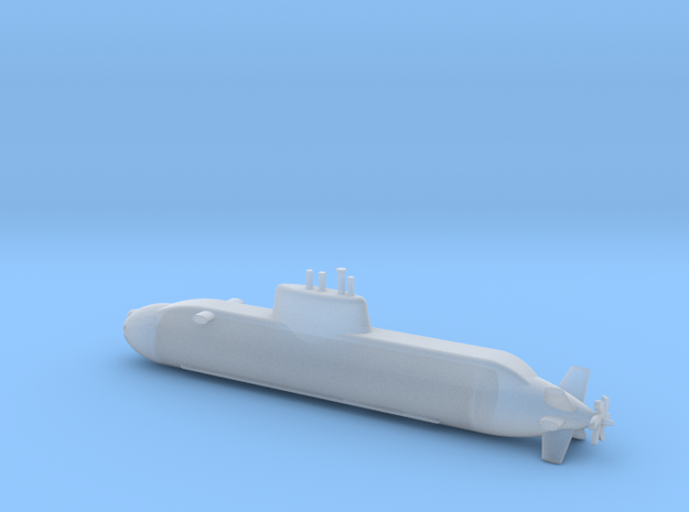 1/700 Dolphin class submarine in Smooth Fine Detail Plastic