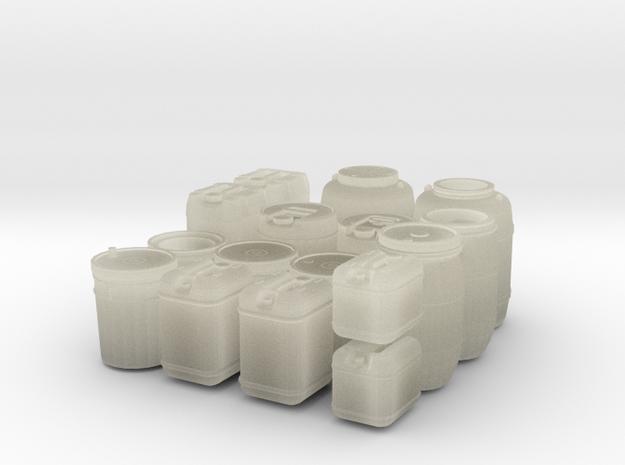 large liquid container set (1/35 scale)