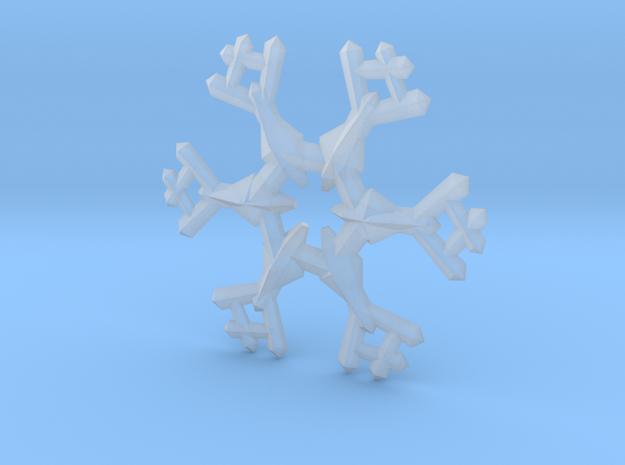 Snow Flake 6 Points A - 5cm 3d printed