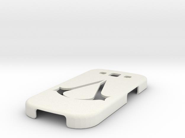S3 COVER in White Natural Versatile Plastic