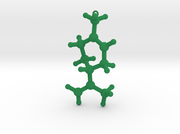 L-Limonene Christmas Tree Decoration Ornament Smal 3d printed