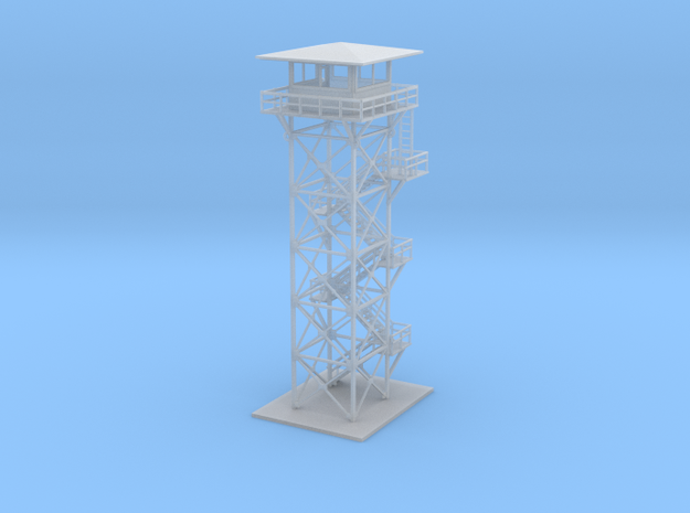 Forestry Tower Z Scale in Smooth Fine Detail Plastic
