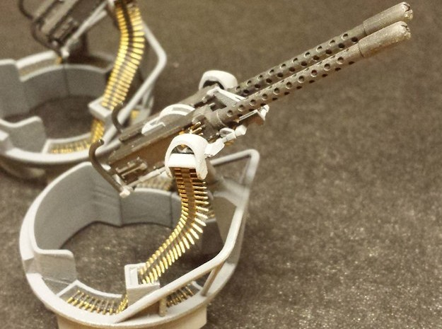 50cal Ammo Belts, multiple scales in Frosted Ultra Detail: 1:20