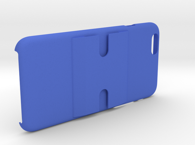 iPhone 6+/6 PLUS Dash/Windshield Mountable Case in Blue Strong & Flexible Polished