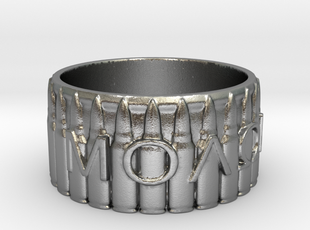 MOLON LABE, Come And Take Them, Ring Size 9 3d printed