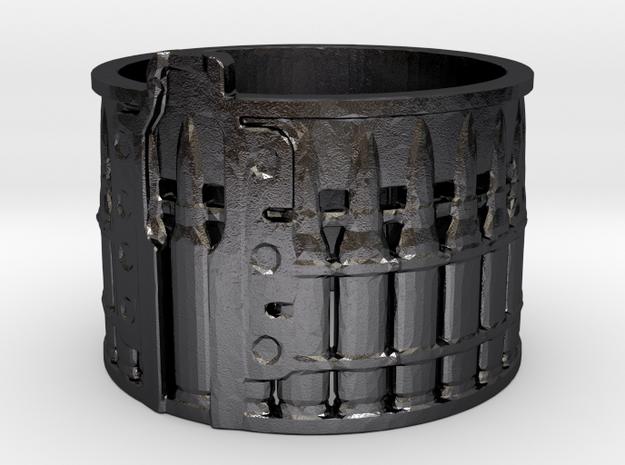 AK-47 75rnd. Drum, Ring Size 14 3d printed
