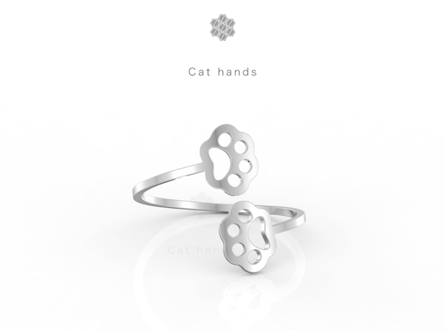 Cat hands Ring