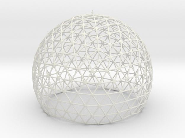 Dome Truss in White Natural Versatile Plastic