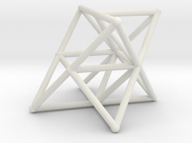Rod Merkaba Supports OpenBase 4cm 3d printed