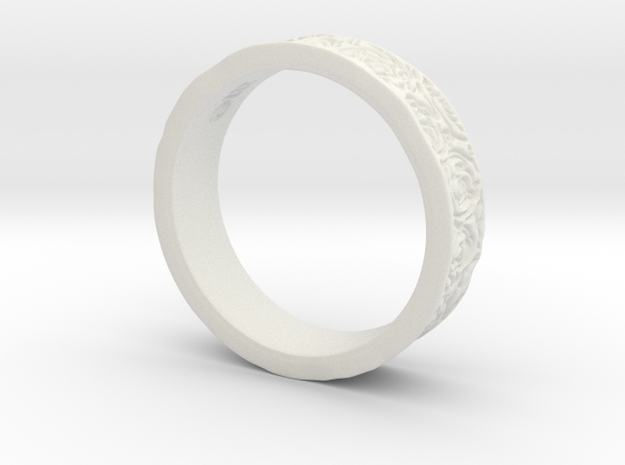 Rose Ring 3d printed