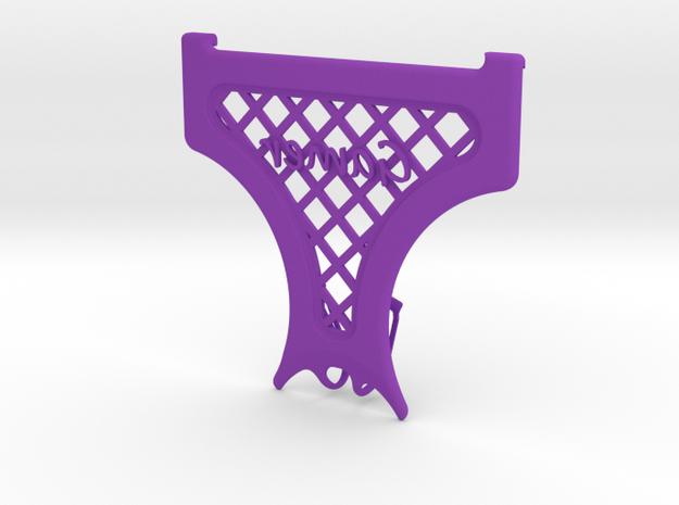 """Google Cardboard (version 1) SweatGuard V3 """"Gamer"""" in Purple Strong & Flexible Polished"""