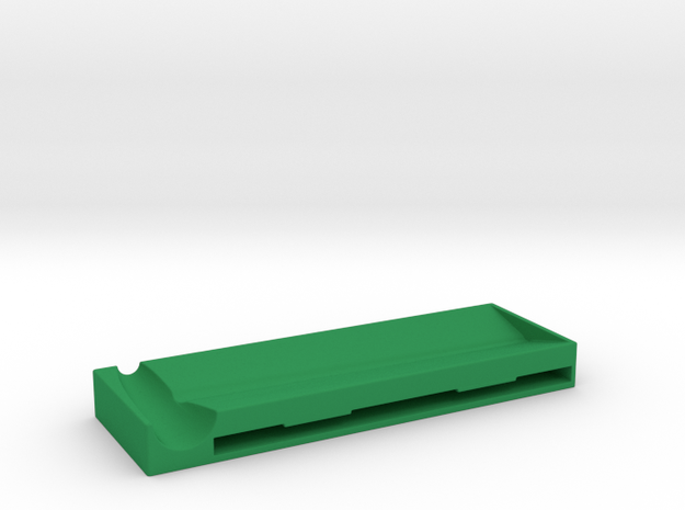 Rolling Mat - for rolling cigarettes. in Green Processed Versatile Plastic