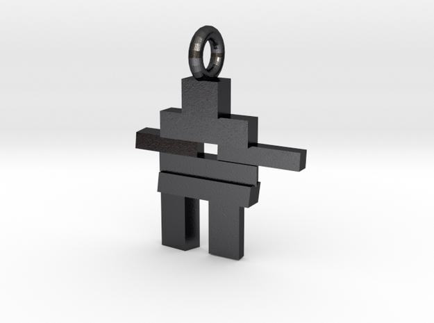 Inukshuk Pendant 3d printed