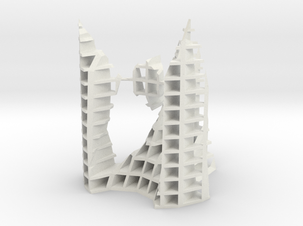architekton with A2 and 2 - A1 singularities [XZ] in White Natural Versatile Plastic