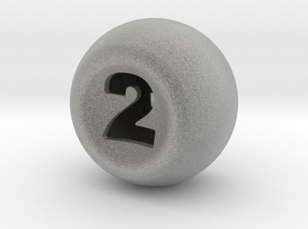 D2 in Metallic Plastic