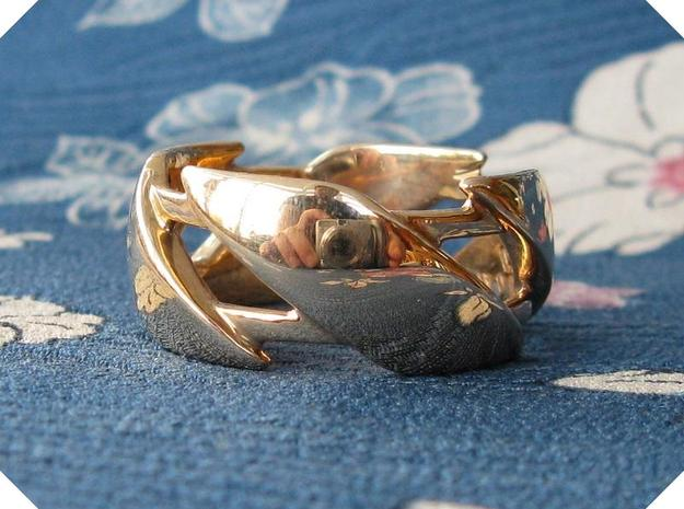 US12 Ring III in Polished Bronze