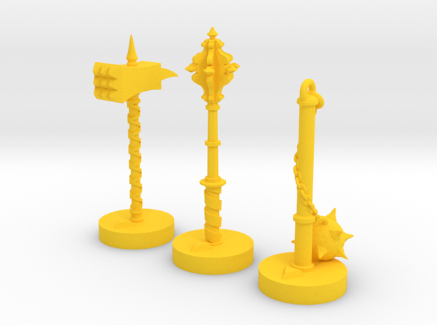 Role Playing Counter: Blunts (Set) 3d printed