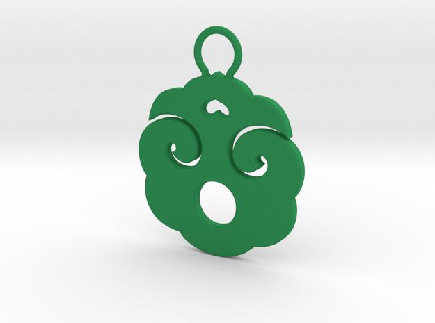 """Choban"" Japanese single ornament 3d printed"