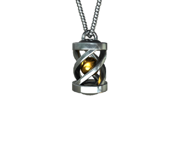 """Necklace """"Eternal Light"""" *small* 3d printed"""